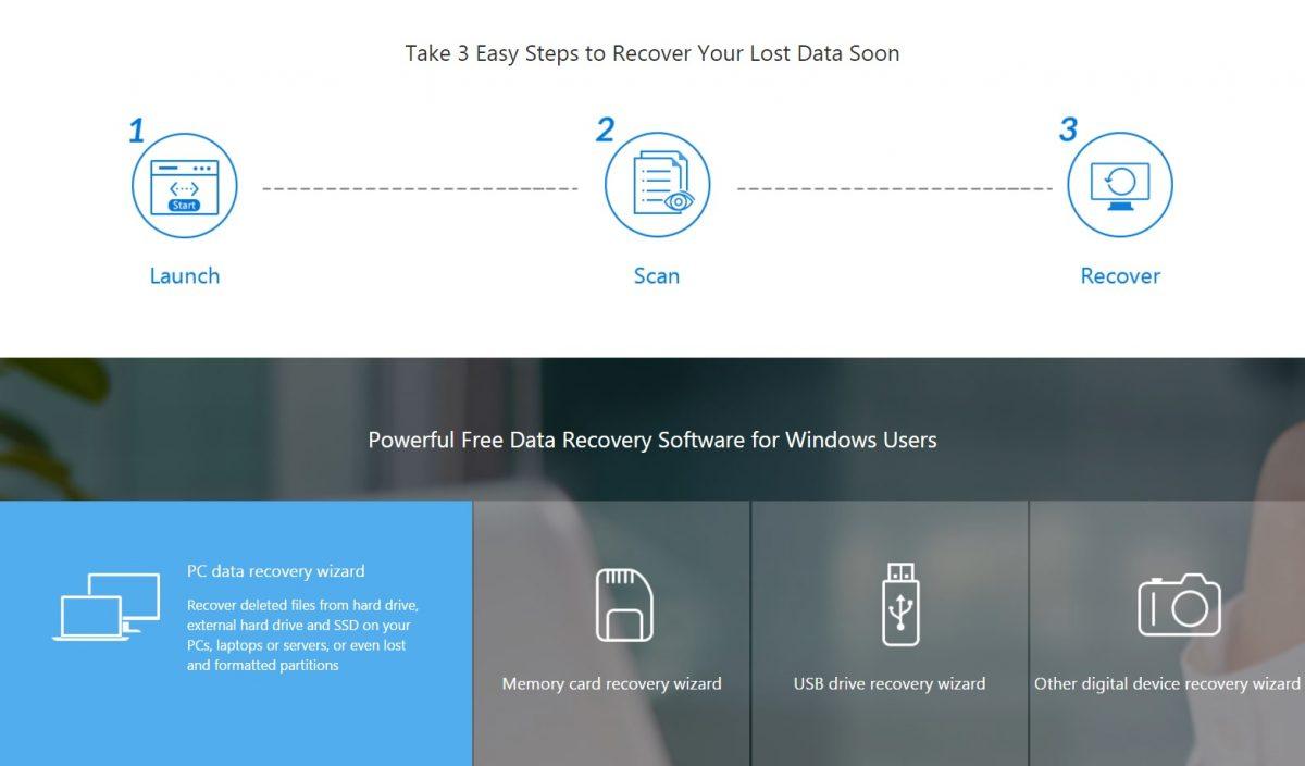 Mengembalikan Data Terhapus Permanen Menggunakan EaseUS Data Recovery Wizard