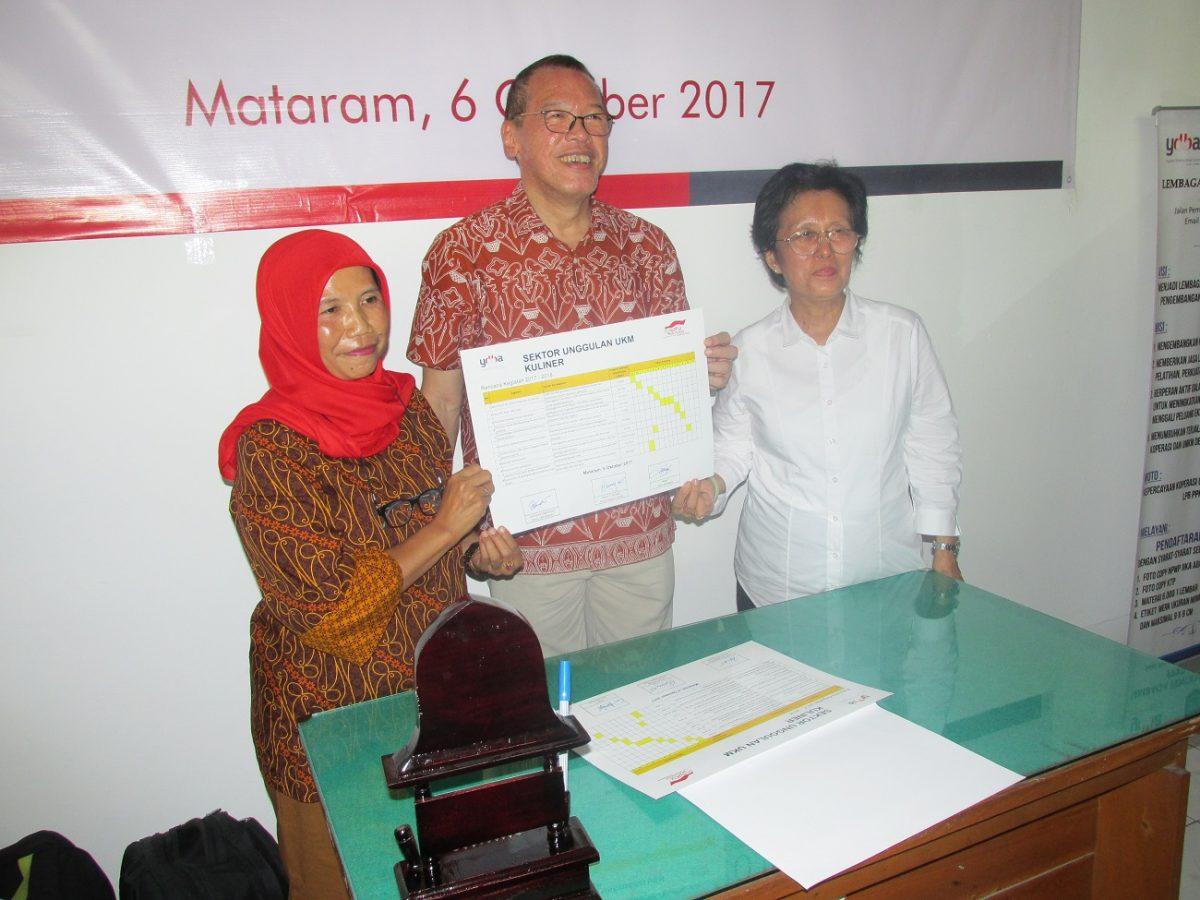 UKM Kuliner di Mataram Kini Tertata Dengan Baik Berkat Program Pembinaan Dari YDBA